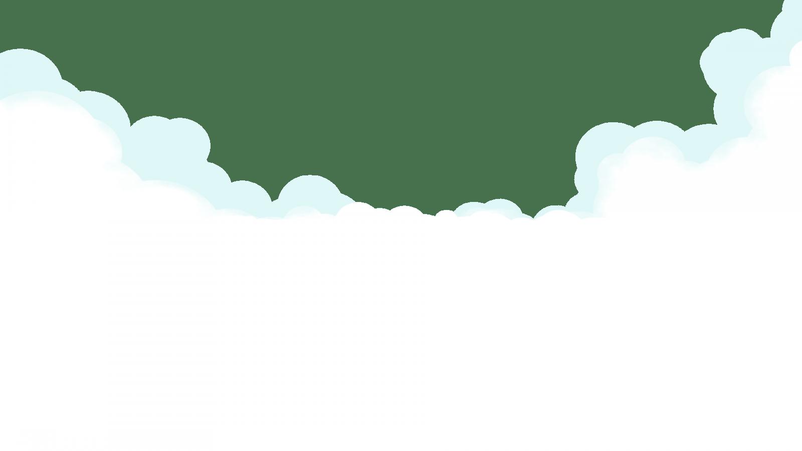 come disegnare le nuvole