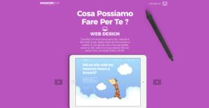 Realizzazione siti web minimal Milano