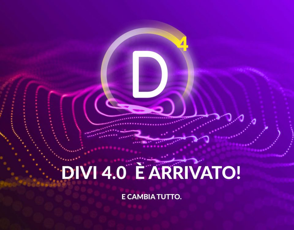 Nuovo tema Divi 4.0 italiano