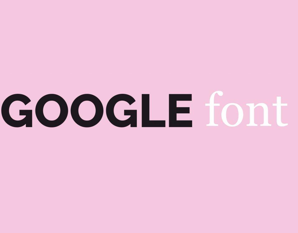 migliori google font siti web
